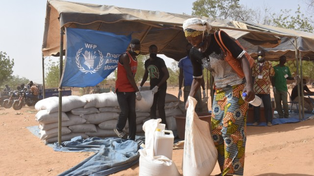 Burkina Faso, Kaya (Sanmatenga province), World Food Programm, WFP