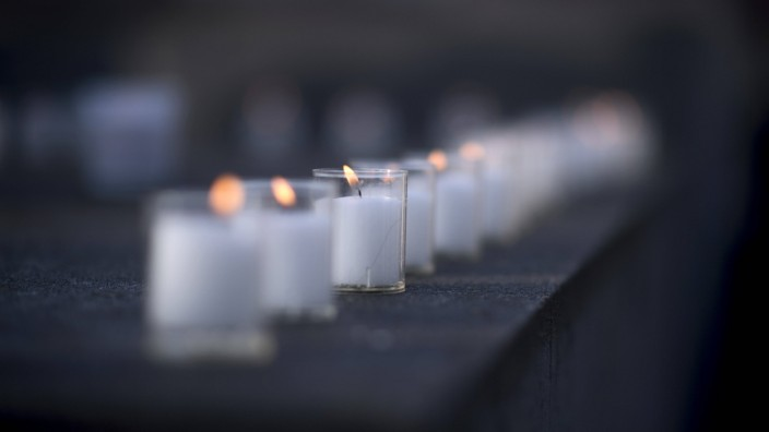 Holocaust Memorial - 75th Anniversary Of The Liberation Of Auschwitz Deu, Deutschland, Germany, Berlin, 27.01.2020 Weiss