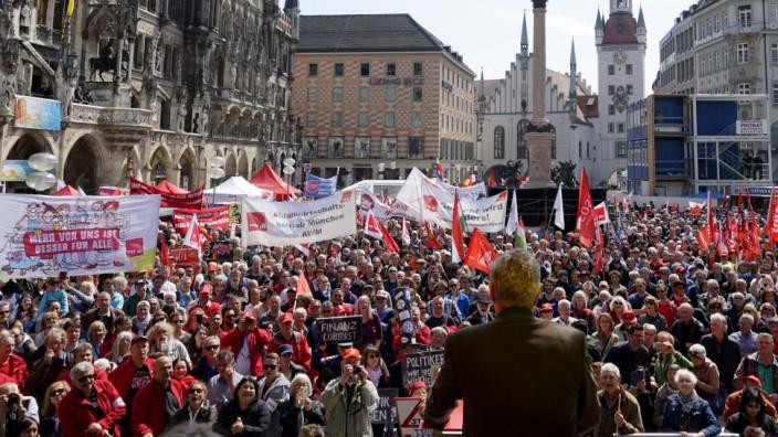 Dieter Reiter bei Kundgebung zum Tag der Arbeit in München, 2017