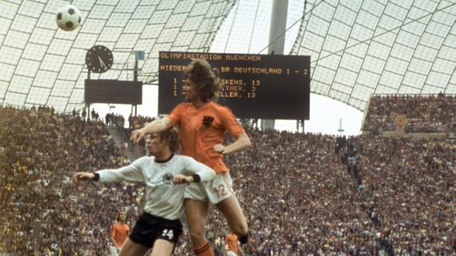 Uli Hoeneß - Fußball WM 1974 - Finale