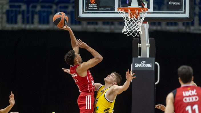 Basketball Berlin 09.10.2020 Saison 2020 / 2021 Euroleague Regular Season 2. Spieltag Alba Berlin - FC Bayern München W