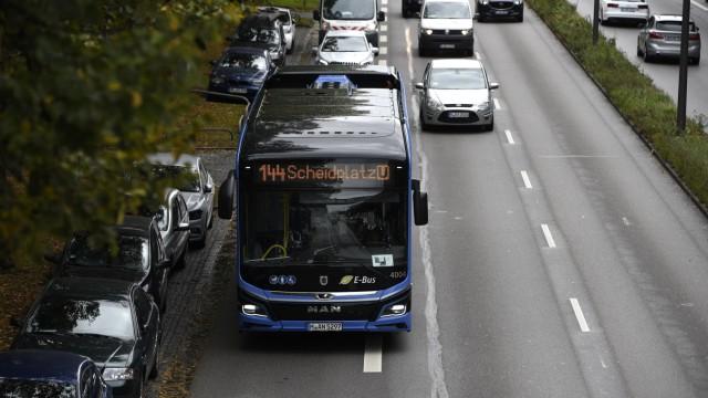 München hat eine erste komplette E-Bus-Linie.
