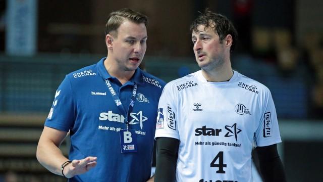 10.10.2020, xovx, Handball LIQUI MOLY 1.Bundesliga, HSG Wetzlar - THW Kiel emspor, v.l. Trainer Filip Jicha (THW Kiel),