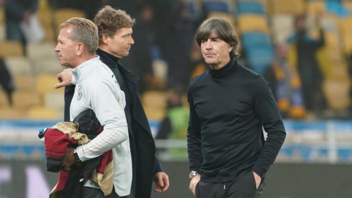 Bundestrainer Joachim Loew (Deutschland Germany) - 10.10.2020: Ukraine vs. Deutschland, UEFA Nations League, 3. Spielta