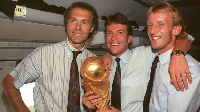 WM 1990 - Beckenbauer, Matthäus und Brehme