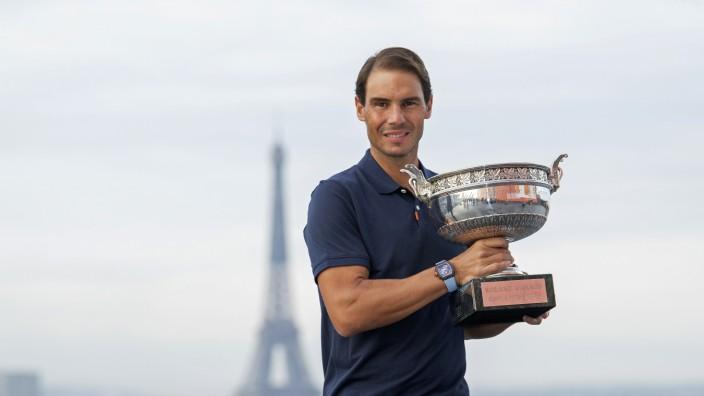 French Open Winner Rafael Nadal Photocall