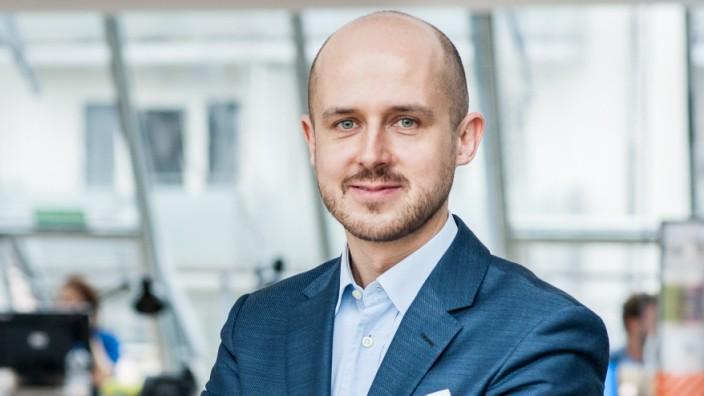 Friedensnobelpreis: Der Österreicher Bernhard Kowatsch war früher Unternehmensberater. Im Münchner WFP-Büro mit seinen mittlerweile 51 Mitarbeitern bringt er kreative Köpfe aus aller Welt zusammen.