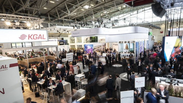 Messe Expo Real in München, 2019