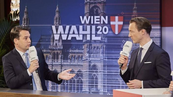 - Wien 11.10.2020 - Wien-Wahl 2020 - Rund 1,36 Millionen Wiener waren heute aufgerufen, einen neuen Gemeinderat bzw. La