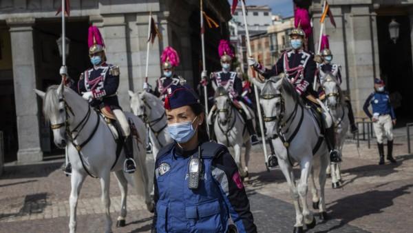 Corona in Spanien: Madrid während der Corona-Pandemie