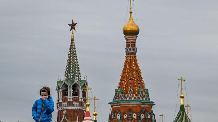 Coronavirus in Russland: Maskenpflicht in Moskau