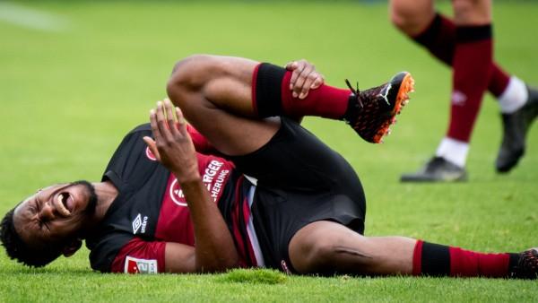 09.10.2020 - Fussball - Saison 2020 2021 - Testspiel / Freundschaftsspiel: 1. FC Nürnberg FCN ( Club ) - SSV Jahn Regen