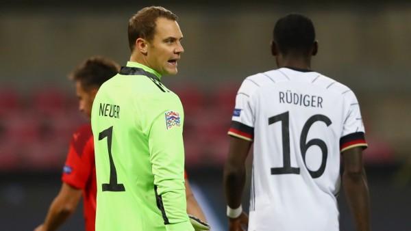 Nations League 2020: Manuel Neuer und Antonio Rüdiger gegen die Schweiz
