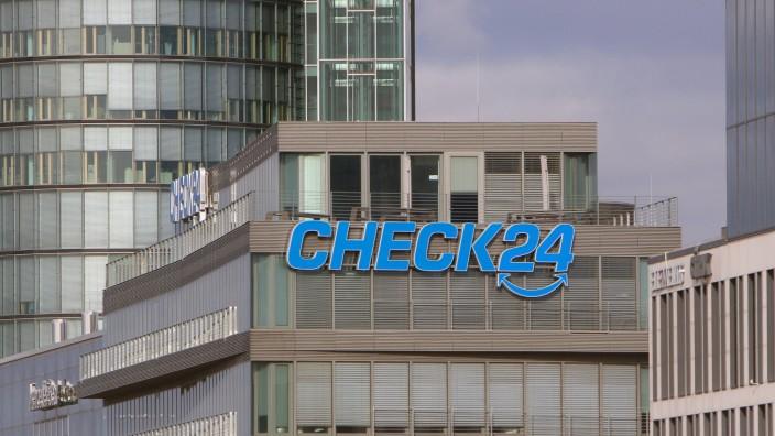 Zentrale des Unternehmens für Preisvergleiche im Internet Check 24 an der Donnersbergerbrücke in Mün
