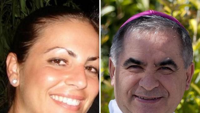 """Vatikan: """"Dame des Kardinals"""": Die sardische Unternehmerin Cecilia Marogna ist in die Geschäfte von Kardinal Angelo Becciu verwickelt."""