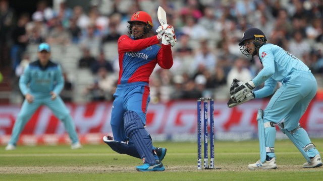 June 18 2019 Manchester Greater Manchester United Kingdom Hashmatullah Shahidi of Afghanistan; Cricket - Afghanistan