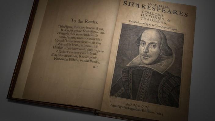 Shakespeare-Erstausgabe versteigert