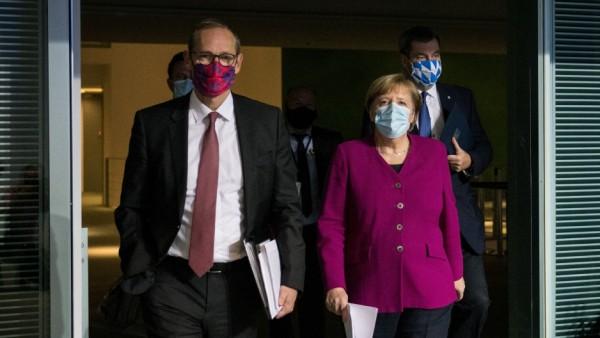 Merkel to discuss coronavirus response with German state leaders