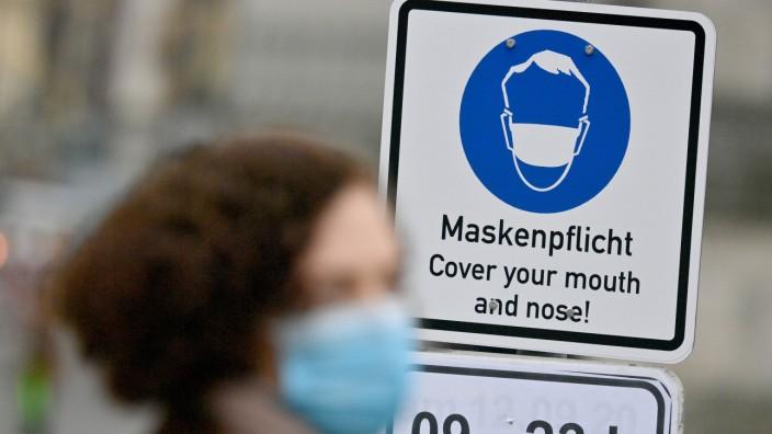 Coronavirus - München - Maskenpflicht