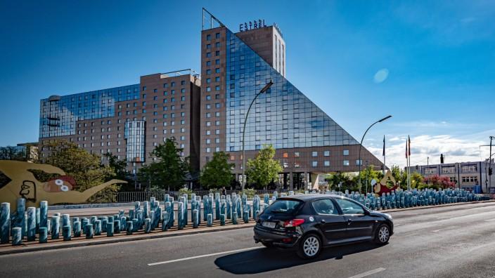Hotel Estrel, Ziegrastraße Berlin Neukölln