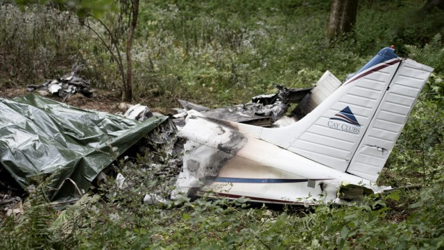 Small Piper plane crashes in Slovenia