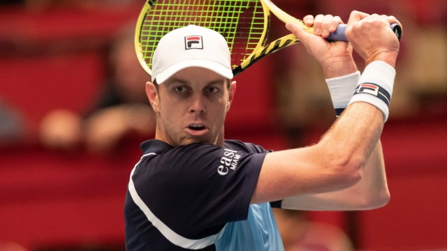 24.10.2019, Wiener Stadthalle, Wien, AUT, ATP, Tennis Herren Tour, Erste Bank Open, im Bild Sam Querrey (USA) // Sam Qu