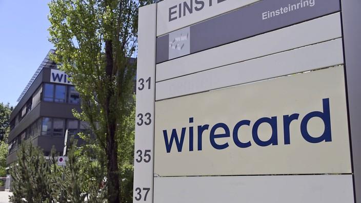 """Staatsanwaltliche Durchsuchung bei der Firma """"Wirecard"""" in Aschheim, 2020"""
