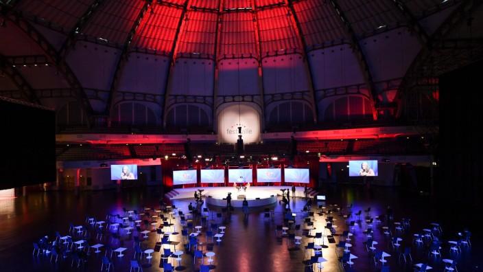 Buchmesse Frankfurt - ARD-Bühne