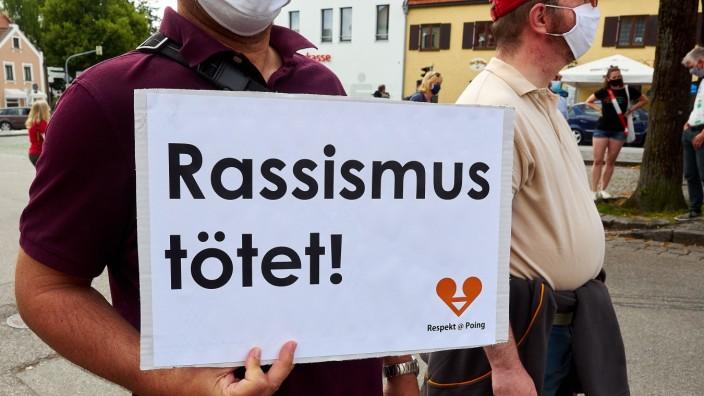Demo gegen Alltagsrassismus EBE
