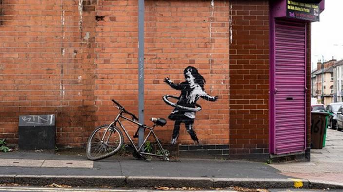 Banksy-Werk in Nottingham