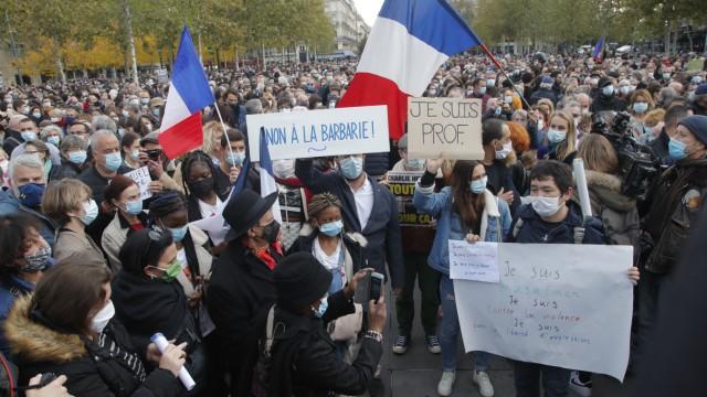 Anschlag Lehrer Frankreich Islamismus