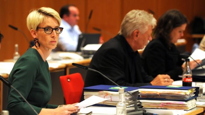 Stadtratssitzung in München in Zeiten der Corona-Krise, 2020