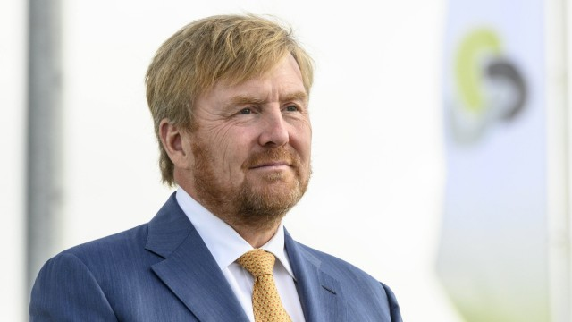 24-09-2020 Delfzijl King Willem-Alexander during the opening of the Purified Metal Company, a recycling factory for con