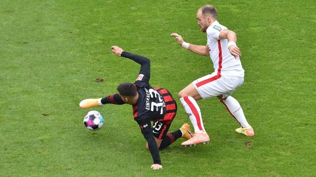 Fußball 1. Bundesliga 4. Spieltag 1. FC Köln - Eintracht Frankfurt am 18.10.2020 im RheinEnergieStadion in Köln Andre S