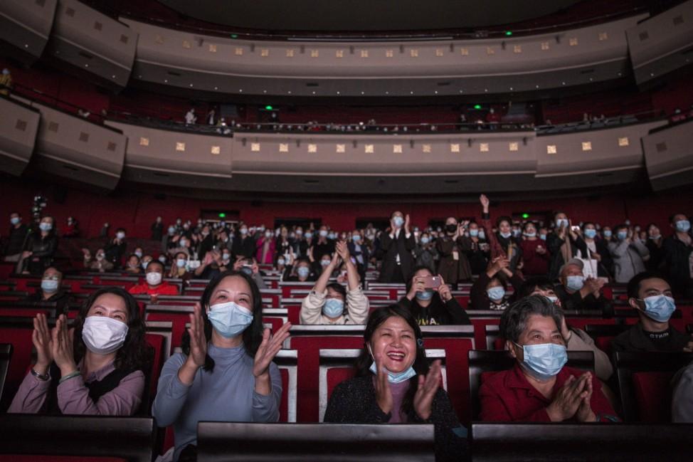 BESTPIX: Opera 'Angel's Diary' Staged In Wuhan