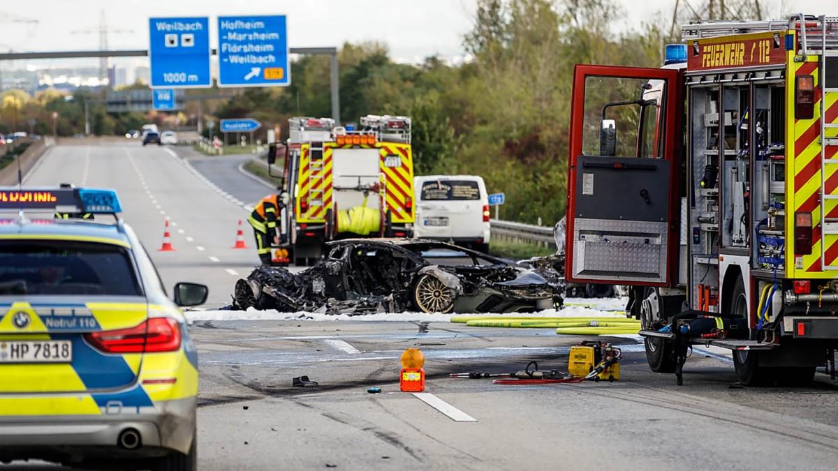 Spurwechsel war wohl Auslöser für Unfall auf A66