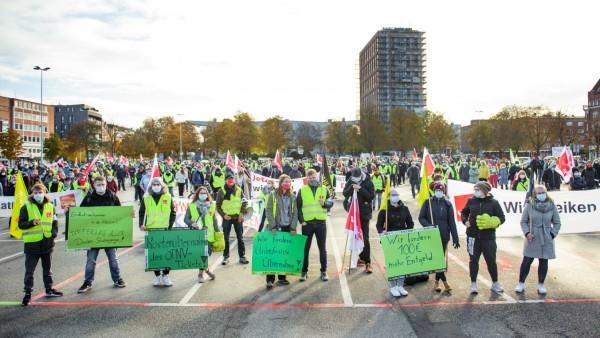 Warnstreik im öffentlichen Dienst - Kiel