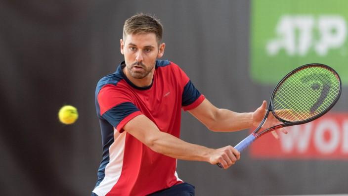 Tennis, Wolffkran Open 2020 Im Bild Julian LENZ (GER). Ismaning TC Ismaning Bayern Deutschland *** Tennis, Wolffkran Ope