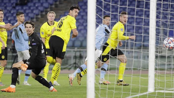 BVB verliert bei Lazio, Leipzig siegt gegen Basaksehir - Sport - SZ.de