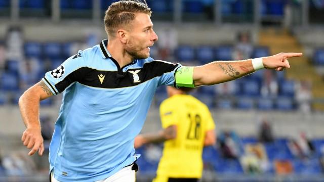 SS Lazio v Borussia Dortmund: Group F - UEFA Champions League
