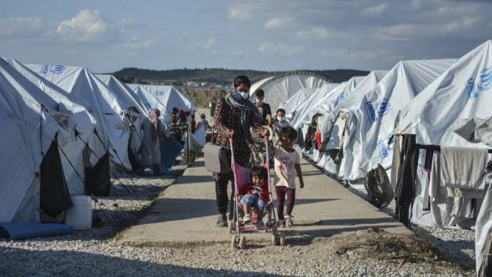 Migranten in Griechenland