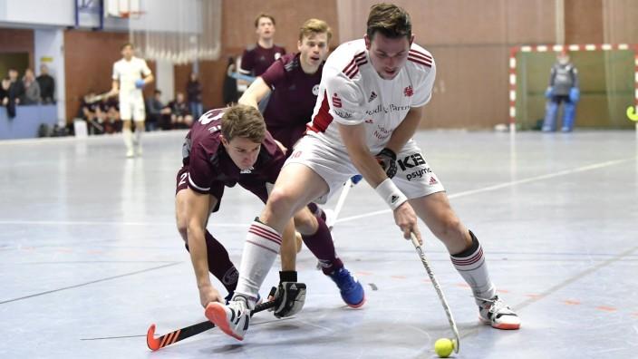 25.01.2020 - Hallenhockey - Hockey - Saison 2019 2020 1. Bundesliga Herren Männer - Nürnberger HTC NHTC Nürnberg - Münch; Nürnberger HTC Hockey Münchner SC Halle