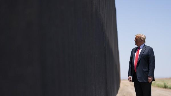 US-Präsident Trump in San Luis