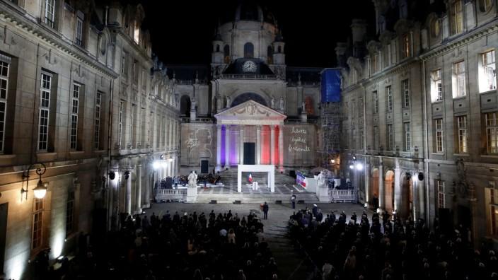 Samuel Paty Trauerfeier Frankreich
