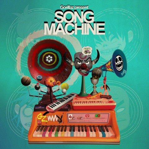 Gorillaz - 'Song Machine Season One:Strange Timez'
