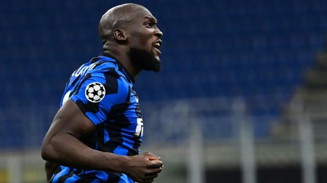 Inter Mailand: Romelu Lukaku jubelt gegen Borussia Mönchengladbach