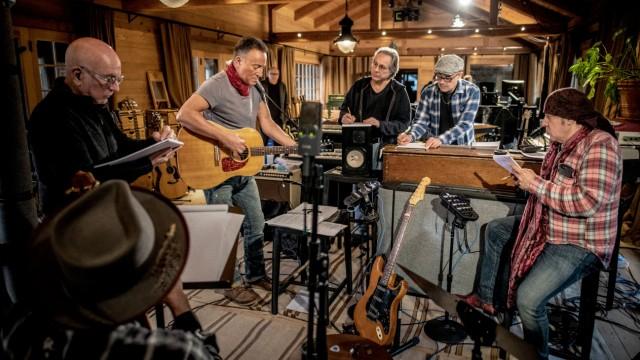 "Pressebilder Bruce Springsteen 2020 zum neuen Album ""Letter To You"""