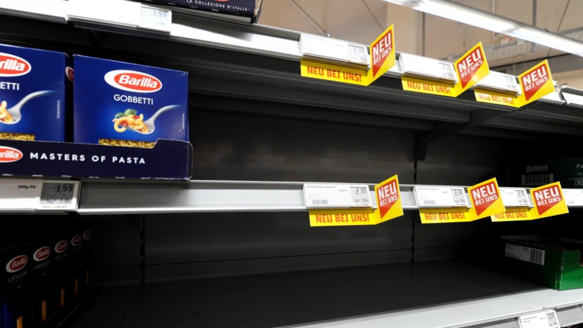 Hamsterkäufe: Die Nudel ist sicher