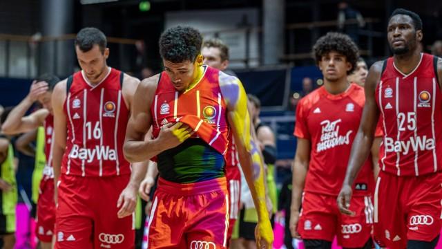 Basketball Weißenfels 18.10.2020 Saison 2020 / 2021 Magenta BBL Pokal Runde 1 FC Bayern München - medi Bayreuth niederge