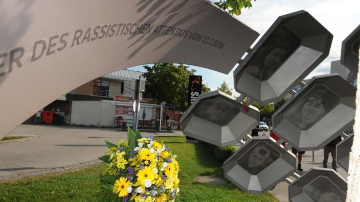 Gedenken an die Opfer des Attentats am OEZ in München